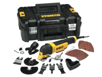 DEWALT DWE315KT Multi Tool Quick Change Kit & TSTAK 300 Watt 110 Volt 110V