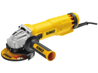 DEWALT DWE4206K-GB 115mm Mini Grinder With Kitbox 1010 Watt 240 Volt 240V