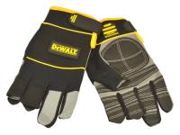 DEWALT Fingerless Framers Gloves Black / Yellow