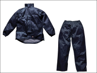 Dickies Navy Vermont Waterproof Suit - XL (48-50in)