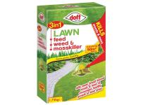 DOFF 3in1 Lawn Feed, Weed & Mosskiller 1.75kg