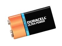 Duracell 9v Cell Ultra Power Battery Pack of 1