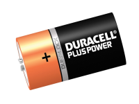 Duracell D Cell Plus Power Batteries Pack of 2 LR20/HP2