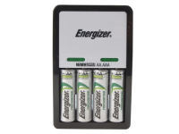 Energizer Compact Charger + 4 x AA 1300 mAh Batteries