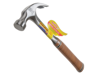 Estwing E16C Curved Claw Hammer - Leather Grip 450g (16oz)