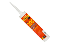 Everbuild Contractors Silicone Sealant 295ml Black 200