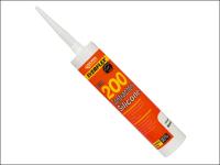 Everbuild Contractors Silicone Sealant 295ml Translucent 200