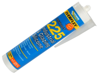 Everbuild Industrial & Glazing Silicone Translucent 310ml 225