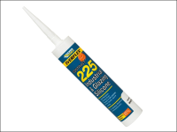 Everbuild Industrial & Glazing Silicone White 310ml 225
