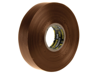 Everbuild Electrical Insulation Tape Brown 19mm x 33m