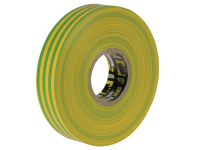 Everbuild Electrical Insulation Tape Yellow/Green 19mm x 33m