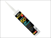 Everbuild PVCu & Roofing Silicone Sealant C3 White 700T