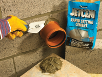 Everbuild Jetcem Rapid Set Cement 12kg (6 x 2kg Packs)