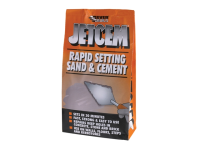 Everbuild Jetcem Premix Sand & Cement 12kg (6 x 2kg Packs)