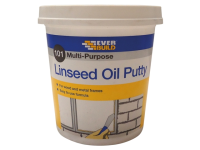 Everbuild Multi Purpose Linseed Oil Putty 101 Natural 1kg