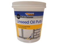 Everbuild Multi Purpose Linseed Oil Putty 101 Natural 2kg