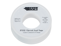 Everbuild P.T.F.E Tape 12mm x 12m - Water