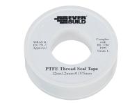 Everbuild P.T.F.E Tape 12mm x 12m - Water