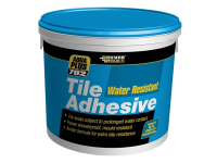 Everbuild Water Resist Tile Adhesive 2.5 Litre