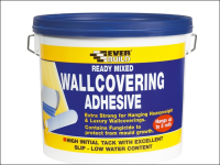 Everbuild Ready Mixed Wallcovering Adhesive 4.5kg