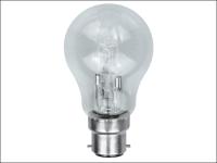 Eveready Lighting GLS ECO Halogen Bulb 42 Watt (54 Watt) BC/B22 Bayonet Cap Box of 1