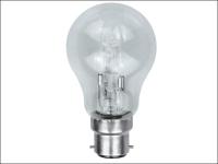 Eveready Lighting GLS ECO Halogen Bulb 70 Watt (92 Watt) BC/B22 Bayonet Cap Box of 1