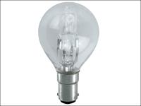 Eveready Lighting G45 ECO Halogen Bulb 28 Watt (36 Watt) SBC/B15 Small Bayonet Cap Box 1