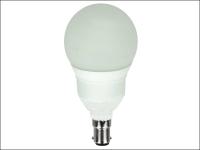 Eveready Lighting Soft Lite Mega Globe Low Energy Lamp 11 Watt SBC/B15 Small Bayonet Cap