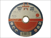 Faithfull Multi-Cut Thin Cut Off Wheel 100mm x 1.0 x 16 Pack of 10