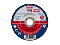 Faithfull Grinding Disc for Metal Depressed Centre 100 x 6.5 x 16mm