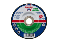 Faithfull Grinding Disc for Stone Depressed Centre 100 x 6 x 16mm