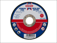 Faithfull Cut Off Disc for Metal 115 x 1.2 x 22mm