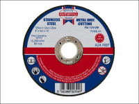 Faithfull Cut Off Disc for Metal 125 x 1.2 x 22mm