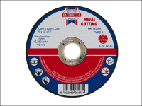 Faithfull Cut Off Disc for Metal 125 x 3.2 x 22mm