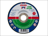 Faithfull Cut Off Disc for Stone Depressed Centre 125 x 3.2 x 22mm