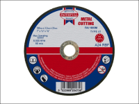 Faithfull Cut Off Disc for Metal 180 x 3.2 x 22mm