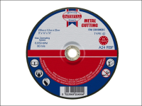 Faithfull Cut Off Disc for Metal Depressed Centre 230 x 3.2 x 22mm