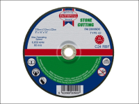 Faithfull Cut Off Disc for Stone Depressed Centre 230 x 3.2 x 22mm
