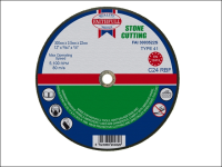 Faithfull Cut Off Disc for Stone 300 x 3.5 x 22mm