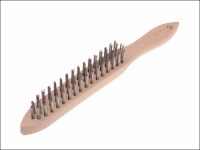 Faithfull 680/3 Heavy-Duty Scratch Brush - 3 Row