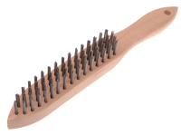 Faithfull 680/4 Heavy-Duty Scratch Brush - 4 Row