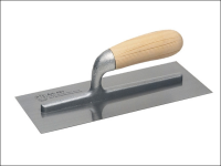Faithfull 821 Plastering Trowel Wooden Handle 11in x 4.1/2in