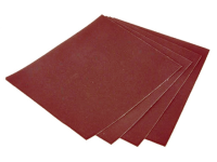 Faithfull Aluminium Oxide Cloth Sheet 230 x 280mm 80g (25)