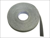 Faithfull Emery Cloth Roll 50m x 25mm Grade 2 1/2