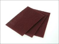 Faithfull Hand Pad Maroon Very Fine 230 x 150mm (10)