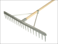 Faithfull Aluminium Landscape Rake Complete with Handle