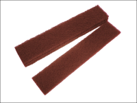Faithfull Abrasive Plumb Strips Maroon Very Fine 50 x 250 mm (6)