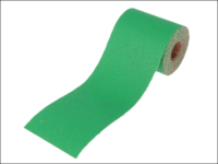Faithfull Aluminium Oxide Paper Roll Green 100 mm x 50m 60g