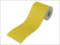 Faithfull Aluminium Oxide Paper Roll Yellow 115mm x 10m 60g