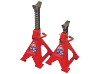 Faithfull Axle Stands Quick Release Ratchet Adjustment 6000kg